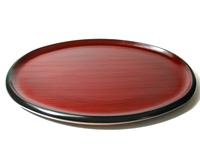 小判盆 布目 京都 漆器の井助