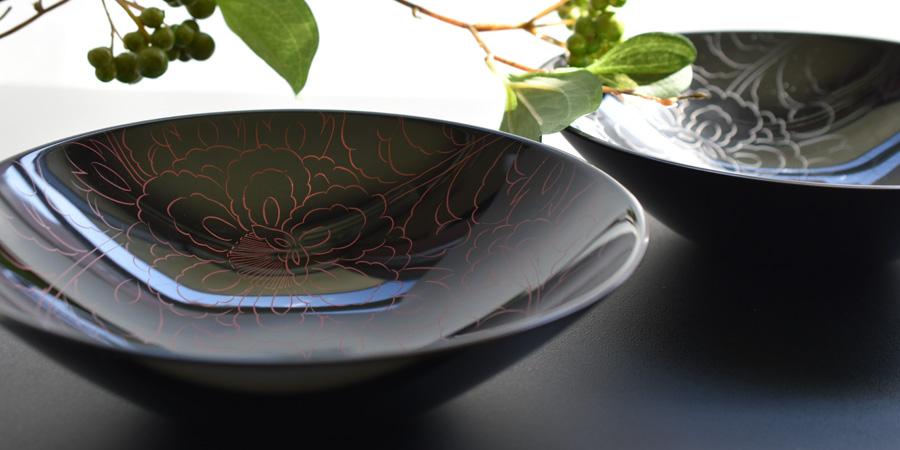 漆器の鉢・ボウル・小鉢
