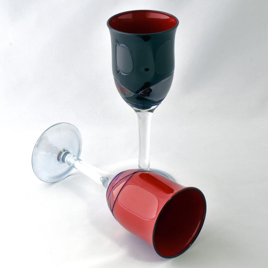 漆フルートグラス ペアセット シャンパングラス