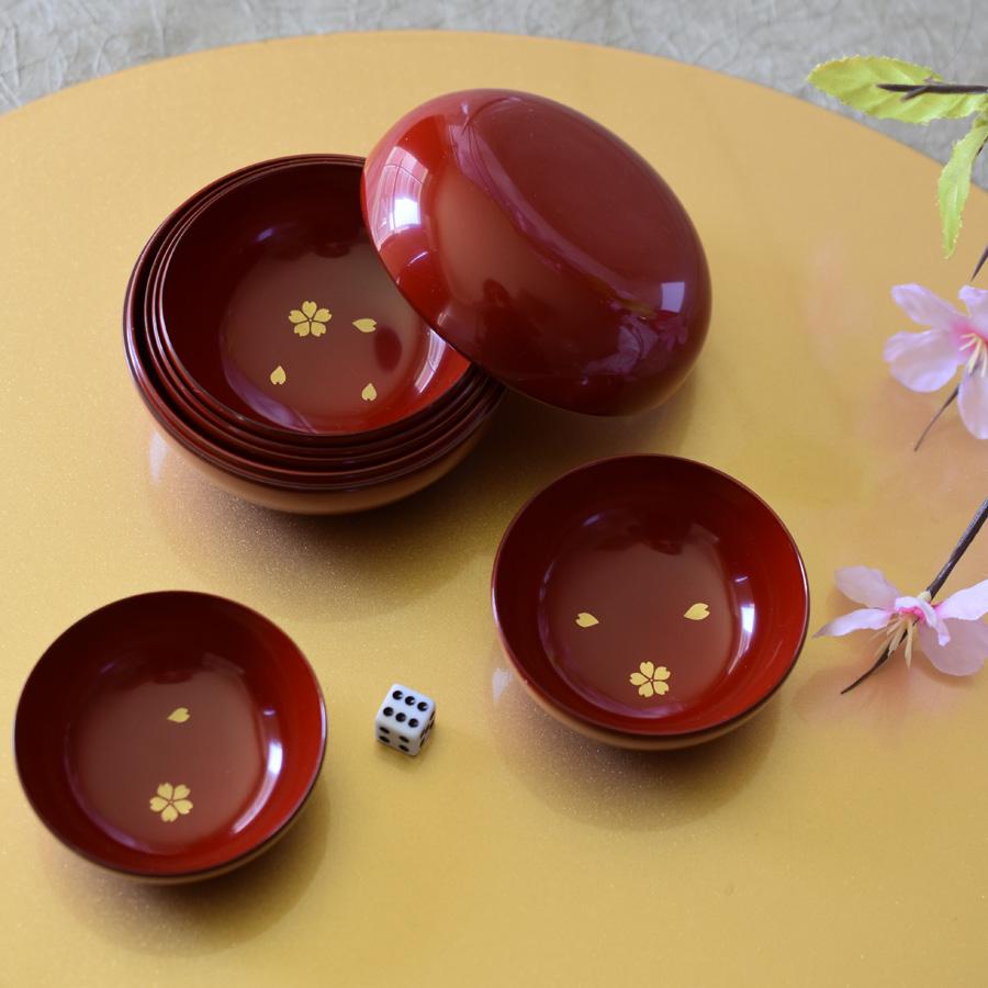 宴遊盃 桜散らし