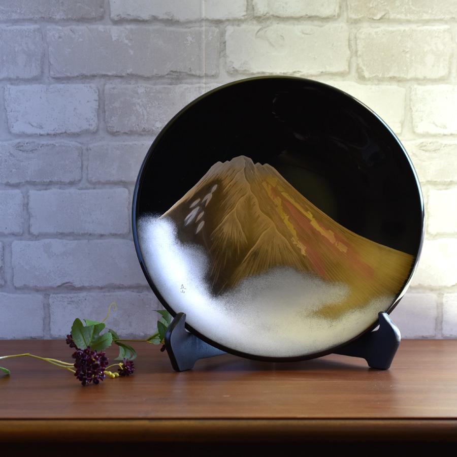 漆器の漆パネル・飾り皿