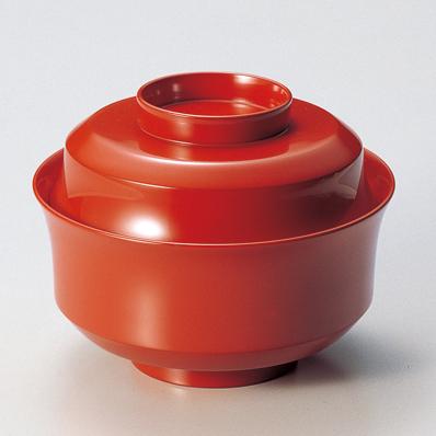 煮物椀 朱 【送料無料】 漆塗り・木製