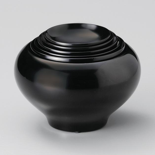 応量器 黒 【送料無料】 木製 漆塗り