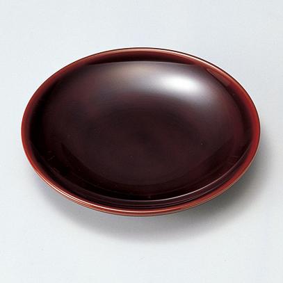 銘々皿 溜 5枚セット 【送料無料】 木製 漆塗り