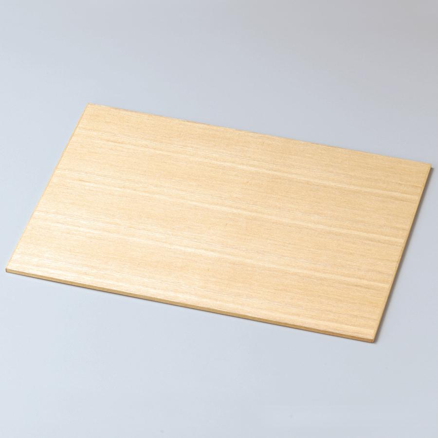 ランチョンマット 13.0 白木塗 タモ 木製 折敷