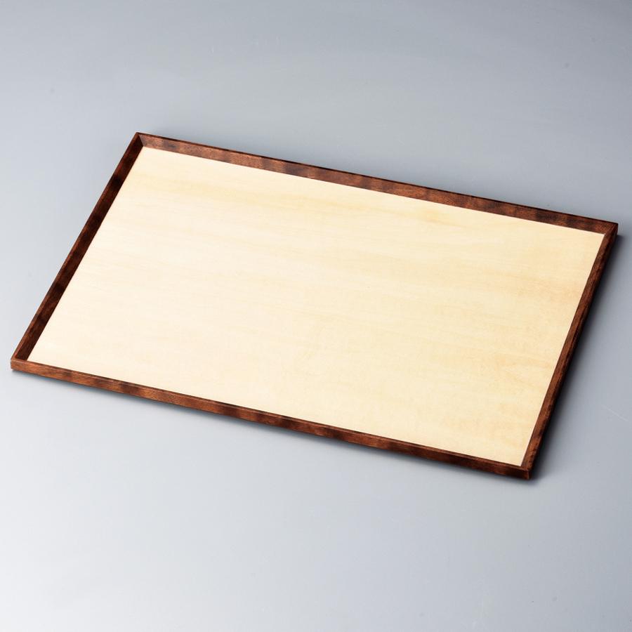 Zen ナチュラル/ウォールナット 木製 ランチョンマット・折敷