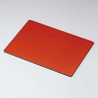 両面ランチョンマット 14.0 布貼り 根来・曙 木製 折敷