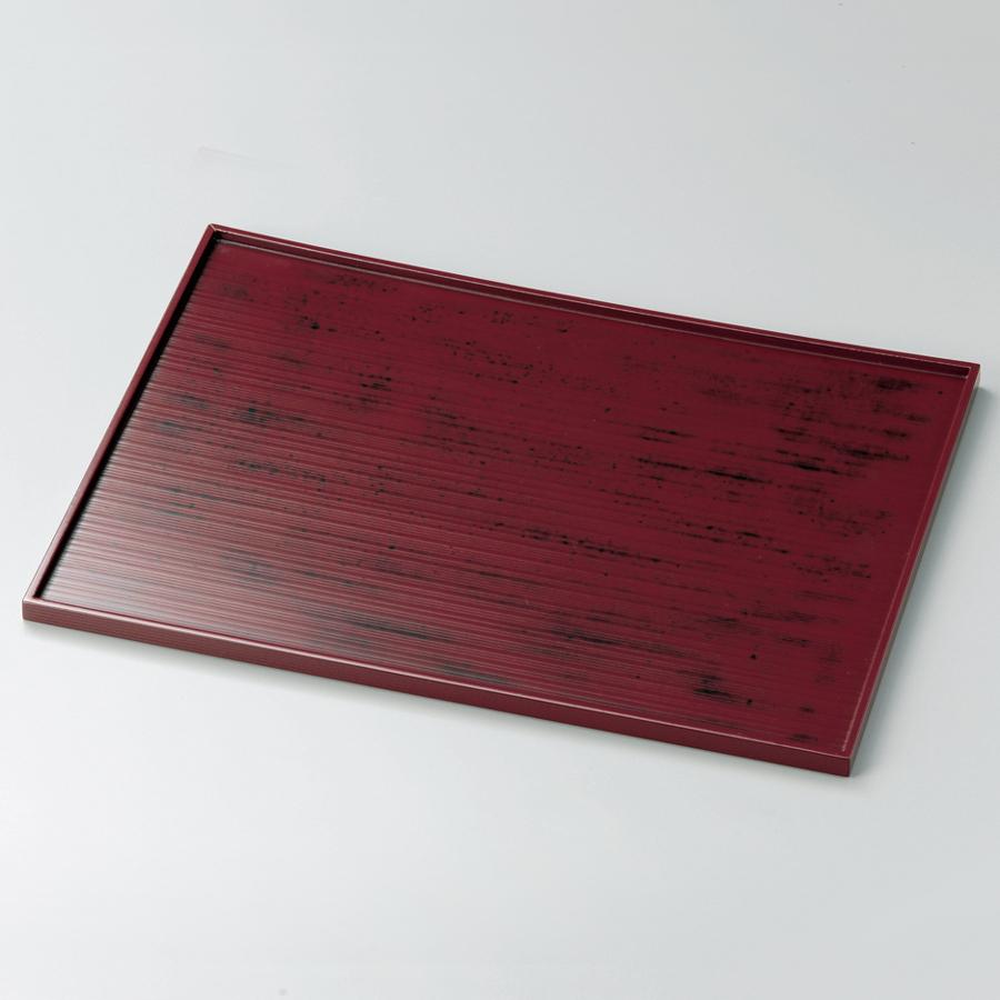長角盆 13.0 木製 トレー