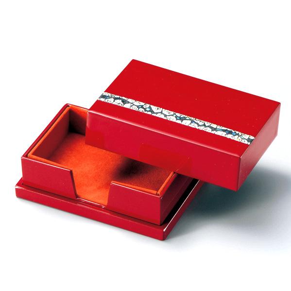 名刺箱 螺鈿 漆塗り 名刺ケース・名刺入れ