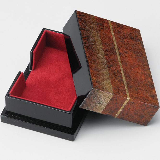 名刺箱 聖火 和紙貼り 【送料無料】 漆塗り 名刺入れ・名刺ケース