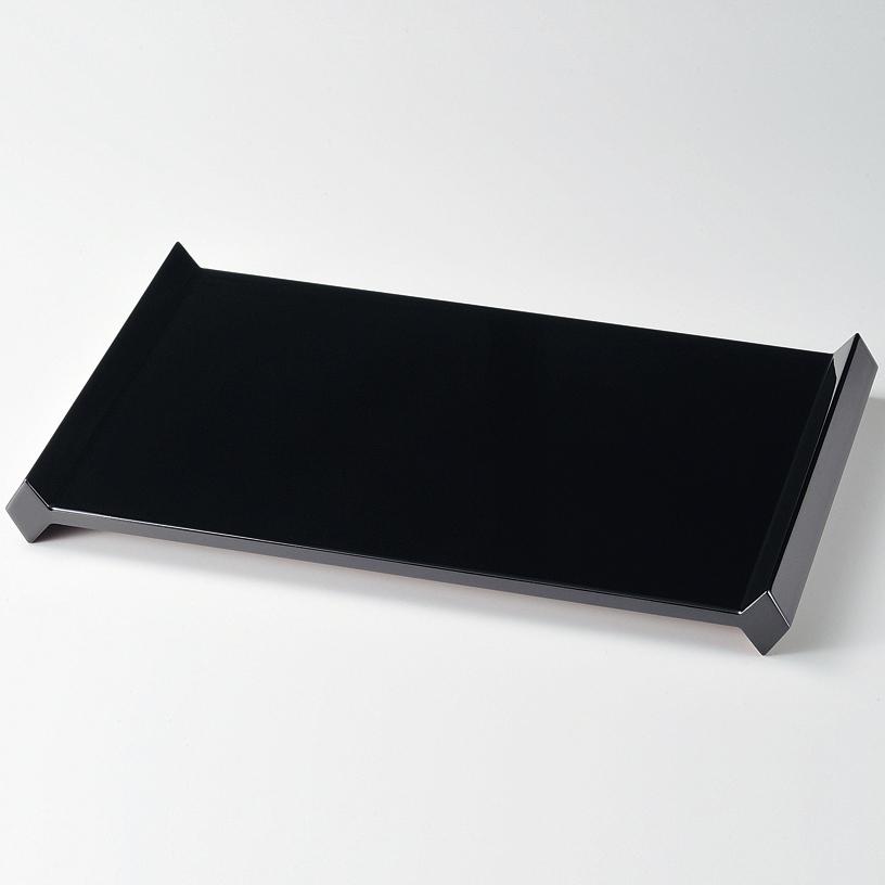 リバーシブル花台(大) 黒・赤 【送料無料】 漆塗り・木製