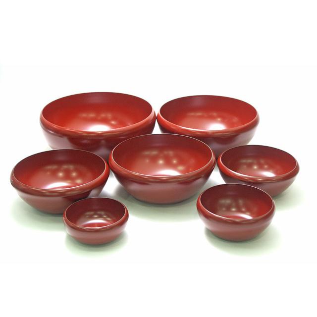 お好み鉢 七つ入れ子 古代朱