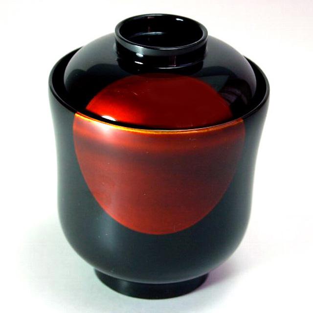 小吸物椀 日月白檀 5客セット 【送料無料】 漆塗り