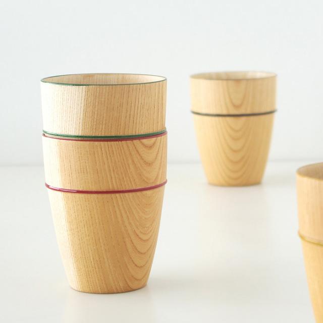 海外へのお土産・外国人へのギフトにおすすめの漆器 MOKU カップ  木製のコップ・グラス 京都 漆器の井助