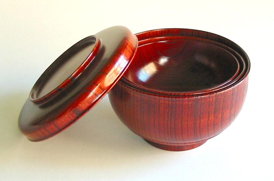 入れ子椀 欅 【送料無料】 木製 漆塗り