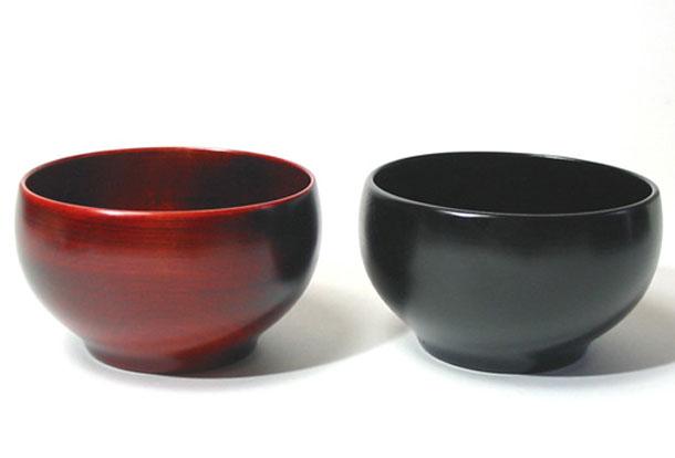 ひなこ椀 栃 木製 漆塗り 木のお椀・味噌汁椀