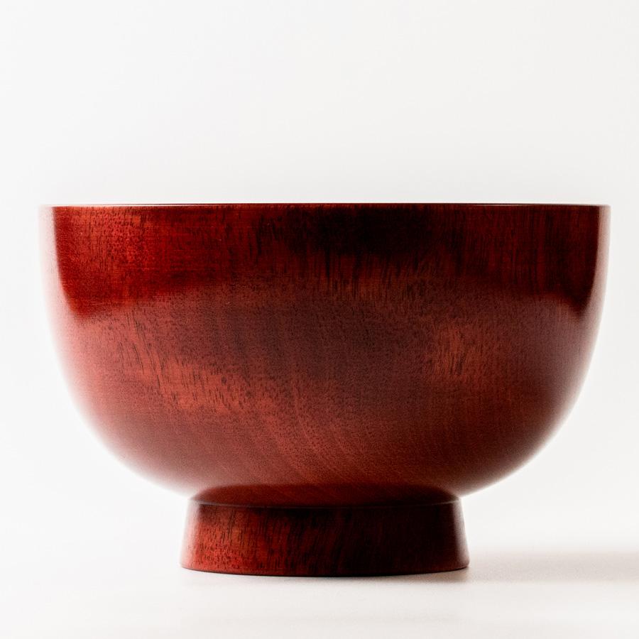 京椀 桜 特大 木製 漆塗り 大椀・麺鉢・丼鉢