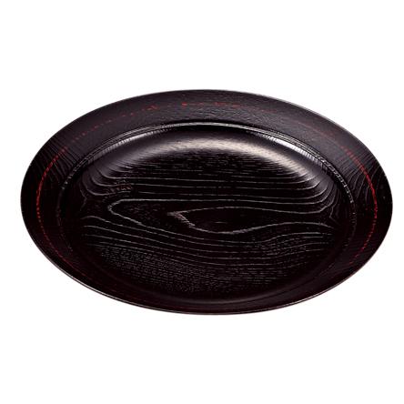 味彩皿 8.0 曙(スノコ付) 木製 漆塗り