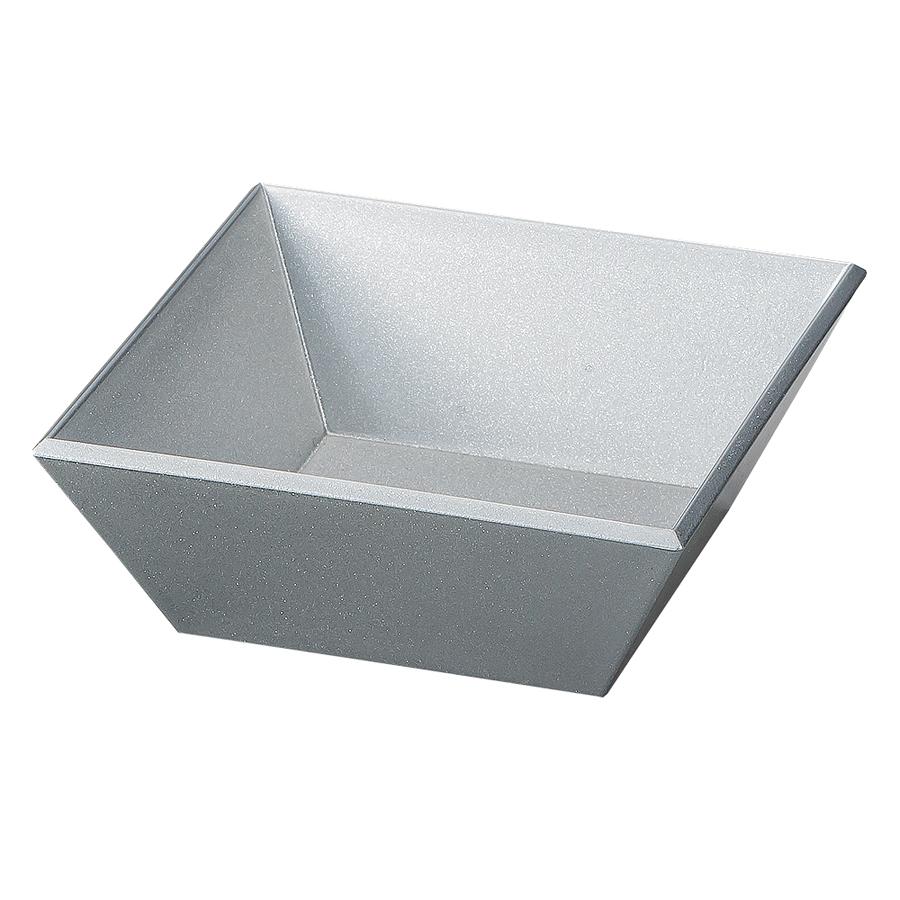 スクエア小鉢 銀ラメ