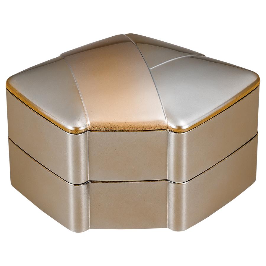 結び二段重 金銀