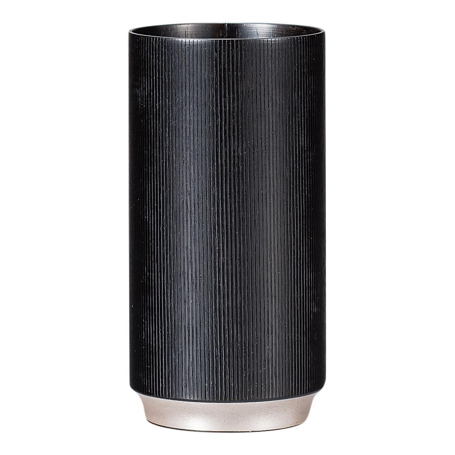 ショットカップ 樹輪 黒 木製 漆塗り