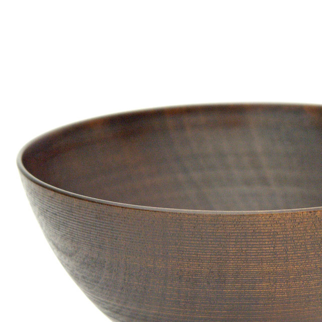 富貴漆椀 5寸 木製 漆塗り 大椀・麺鉢・丼鉢