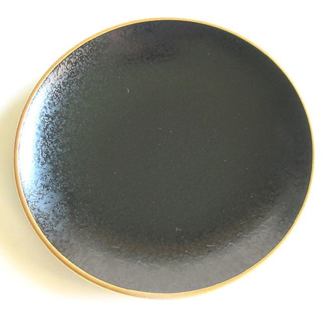 銘々皿 タタキ黒渕金 取り皿・小皿 漆器の井助